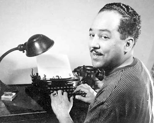 Langston Hughes, probably about to write something brilliant.