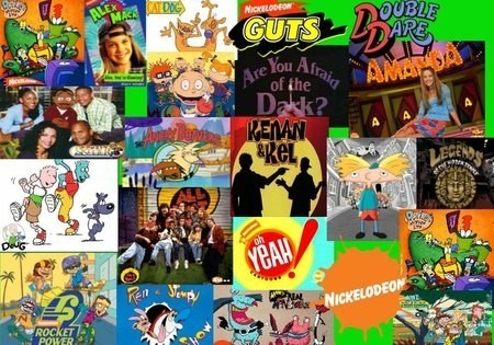 Nickelodeon was my world in the 90s. EVERY. THING.