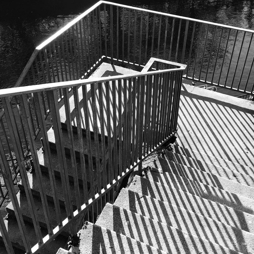 Stairway to Kelvin River