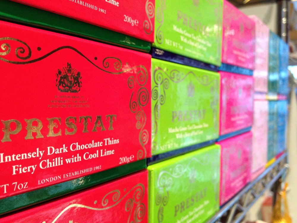 Prestat and other luxury chocolates