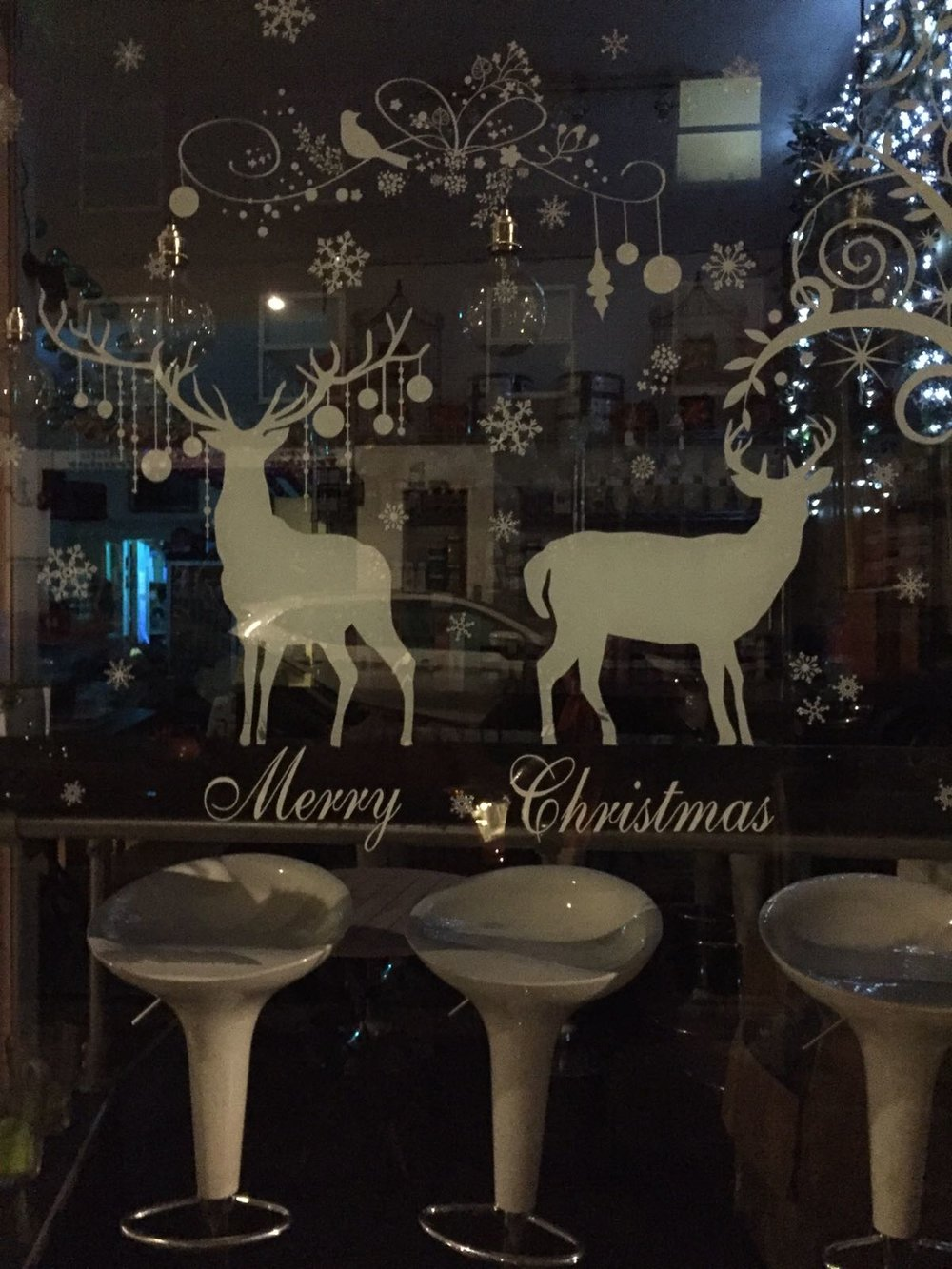 truffles deli window
