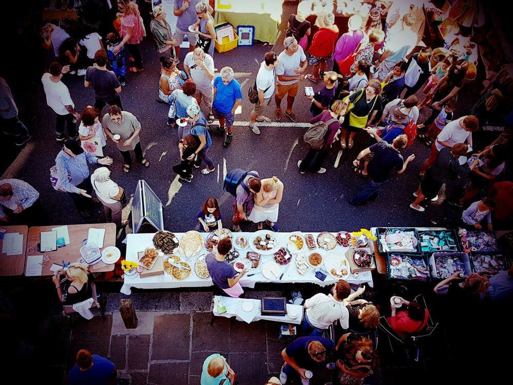 Truffles Deli cake stall