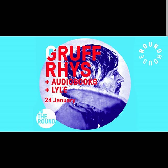 Tonight at The Roundhouse 💥 @gruffingtonpost  @audiobookshq  @lylemorningroutine