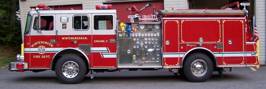 Engine 2  - 1996 Seagrave Marauder II, 1500 GPM Waterous Pump, Foam A/B, Detroit Series 60 515hp Engine.