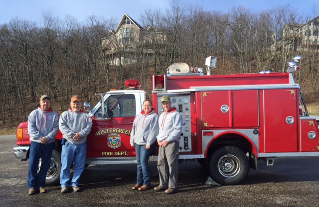 January 9, 2016 - Attack 5, (1990) was transferred this morning to the Simmonsville Volunteer Fire Department.  This all-volunteer department is located in Craig County Virginia, not too far from Blacksburg. Attack 5 has been a very solid truck for Wintergreen, is in great shape, and will continue to serve Craig County for many years.