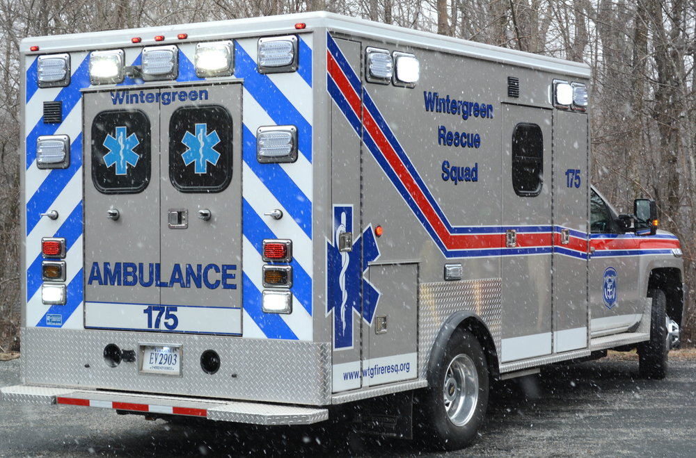 Medic 175  - 4x4 2015 Chevy ALS Ambulance. This unit is equipped with a full complement of Advanced Medical Supplies and LED lighting.