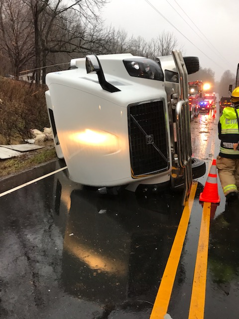 Tractor Trailer Accident — News and Updates — Wintergreen