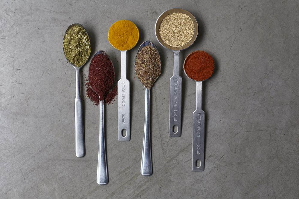 A few of our favourite herbs and spices