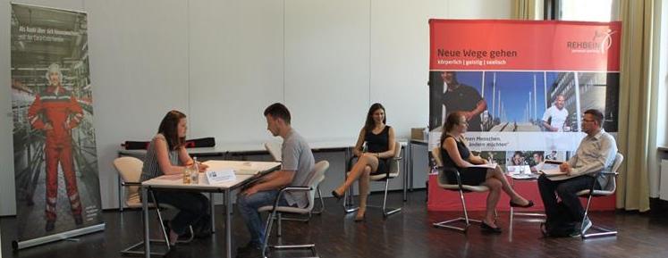 Azubi Speed Dating bei der IHK Hannover Rehbein group Rehbein personal coaching