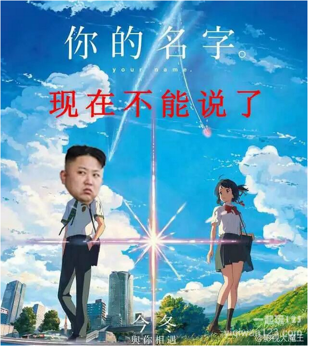 """Your Name: Now We Can't Say It""  meme courtesy of  yiqiwan123"