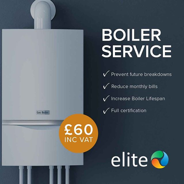 Ensure that you prevent a Boiler Breakdown by having your Boiler serviced every year! Is yours due a service? Give Elite a call!