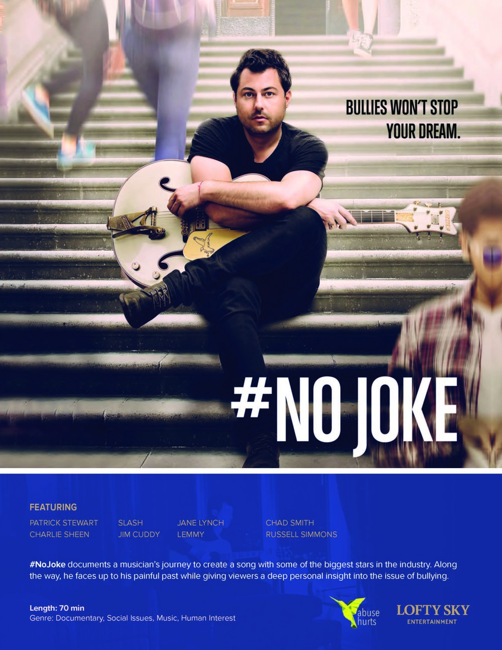 Exciting #announcement coming soon about @NoJokeFilm!Be sure to follow for updates you won't want to miss. #NoJoke #NoJokeFilm #documentary -