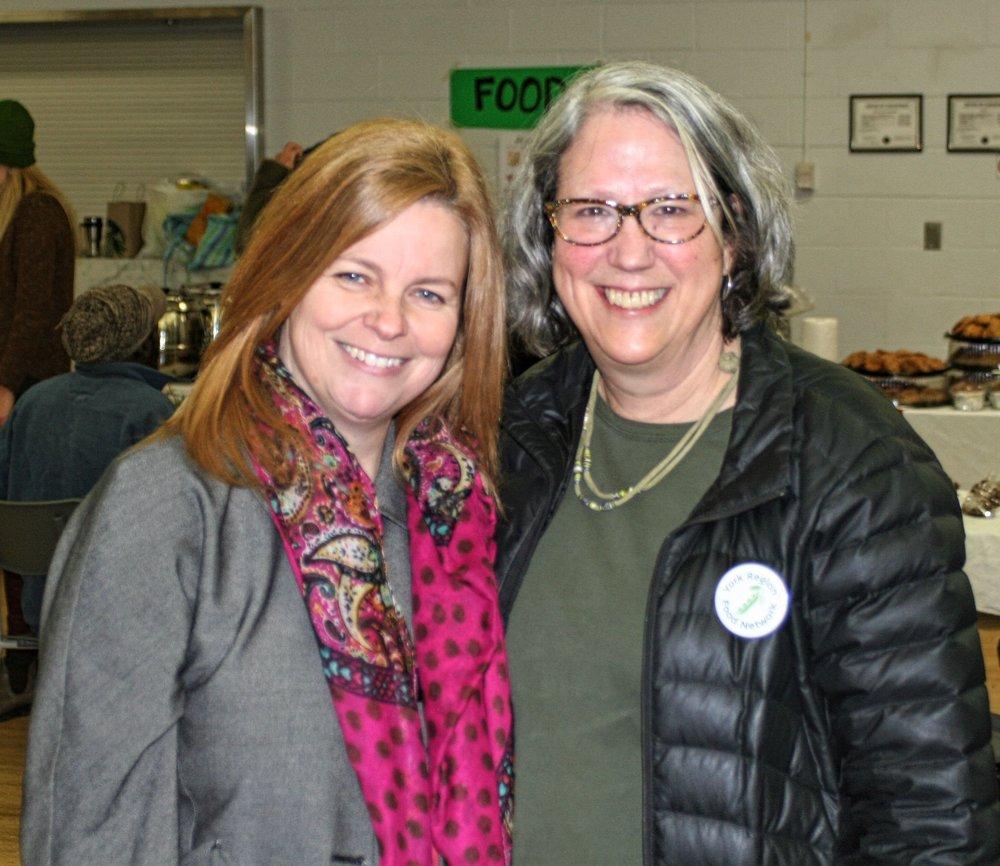 Seedy Saturday at Riverwalk Commons Community center with Joan Stonehocker