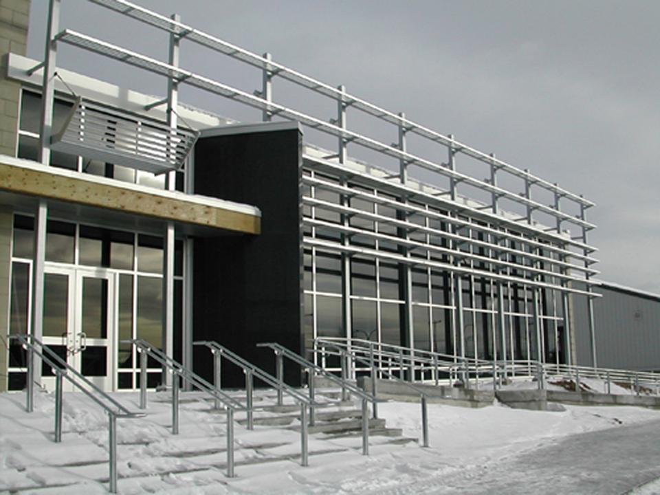 Bibliothèque de Sept-Îles  Année : 2003    Budget: 5,7M$