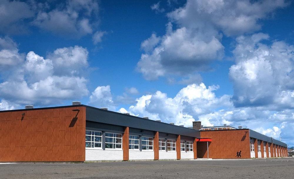Réfection enveloppe École Jacques-Cartier  Année : 2015     Budget: 1,9M$