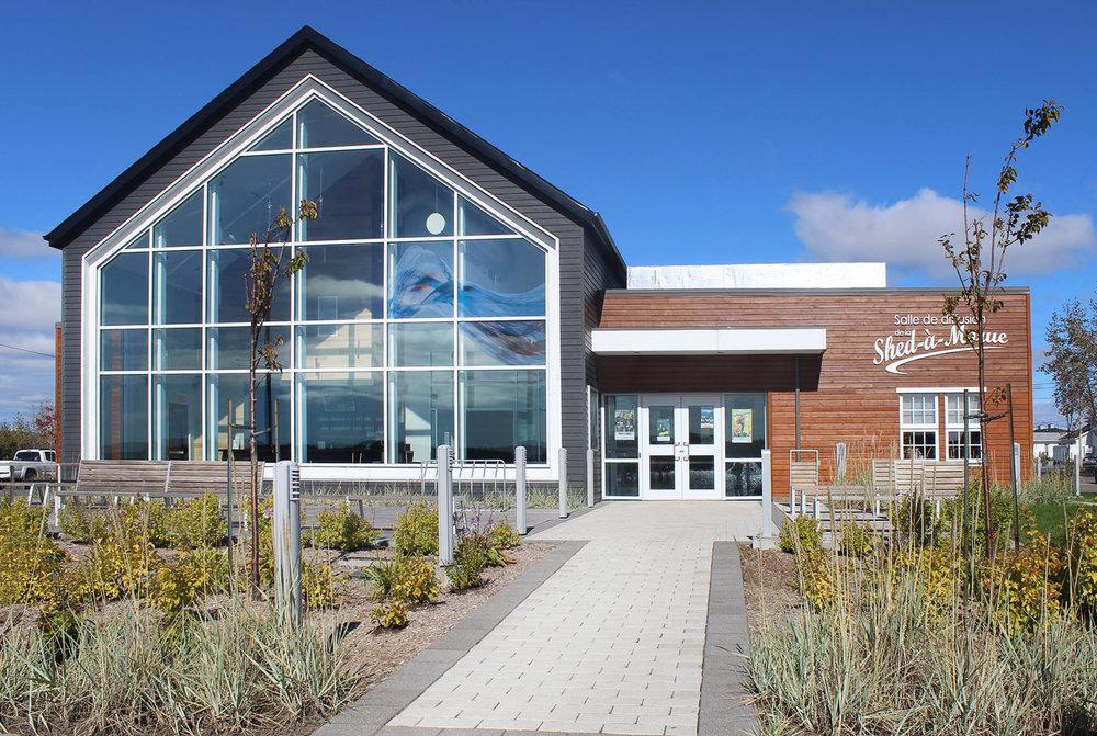 Salle de diffusion de Havre-Saint-Pierre  Année : 2012    Budget: 3,3M$