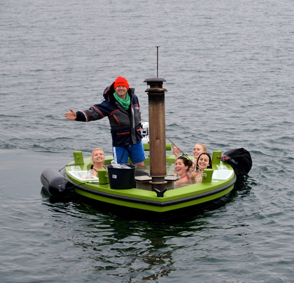 Hot sailing Spa's - Cruise the canals of Copenhagen in +40℃ hot saltwater   The most intense fun you had in a long time
