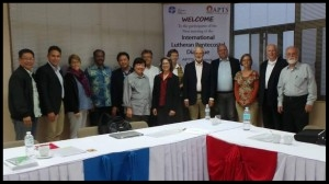 Dialogue commission at Asia Pacific Theological Seminary in Baguio City, the Philippines