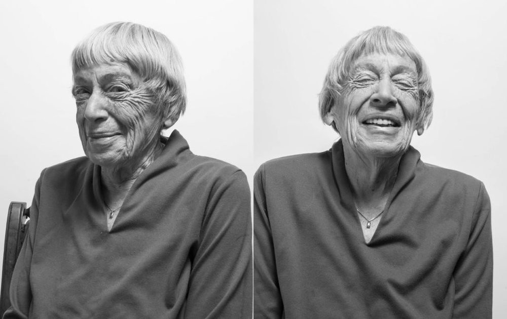 Photo Credit: William Anthony/ The Nation , also in Neil Gaiman's  obituary of Le Guin