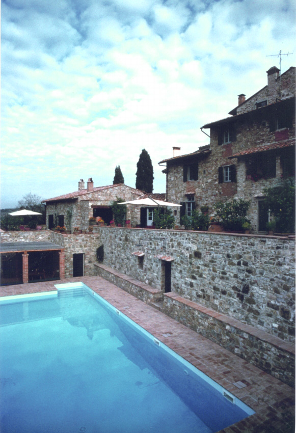 CHIANTI HOUSE Florence, 1997