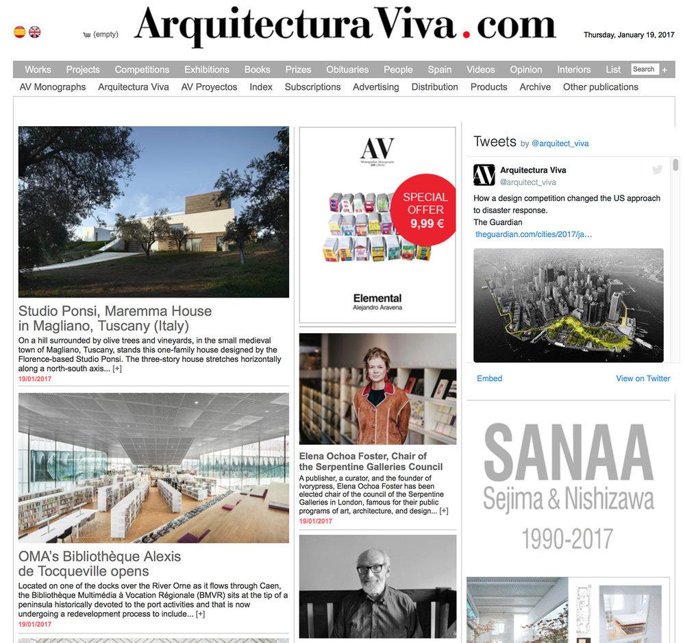 170119_Arquitectura Viva · Architecture magazines_2.jpg