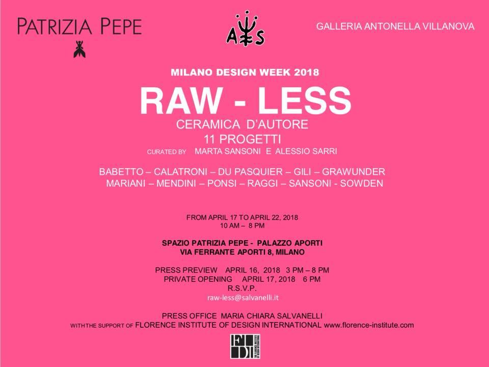 Raw-Less_Patrizia Pepe