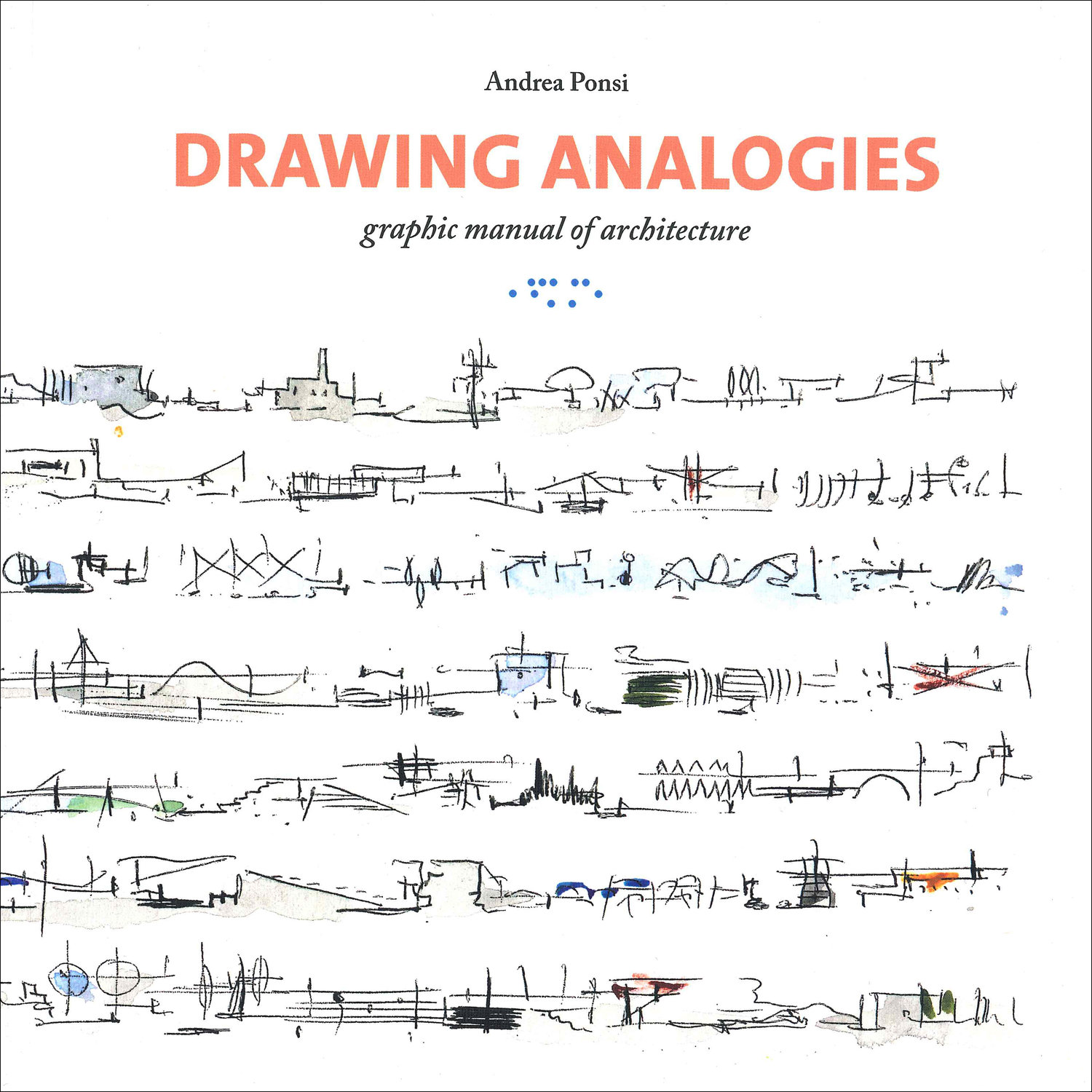 "Studio Di Architettura In Inglese disegnare analogie"" book published in english with the title"