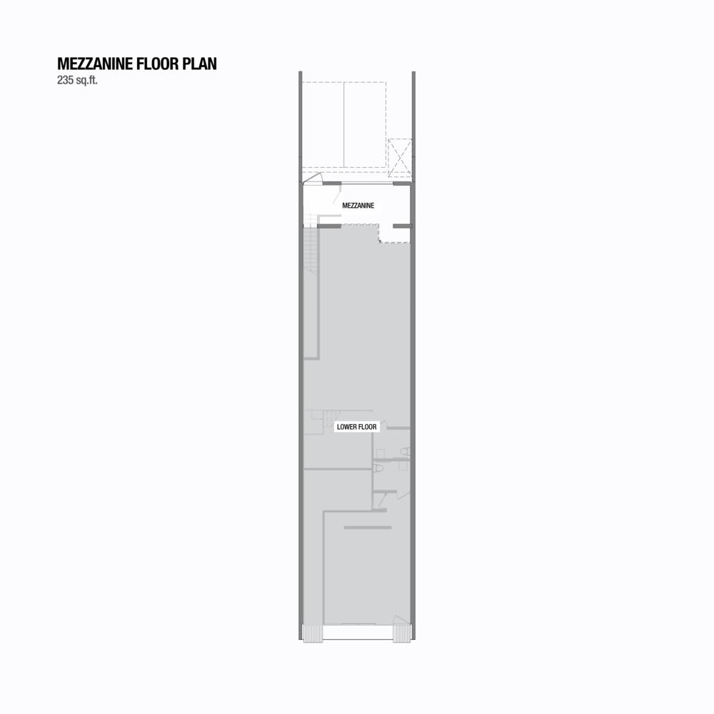 floor plans 1441 e pender mezzanine level