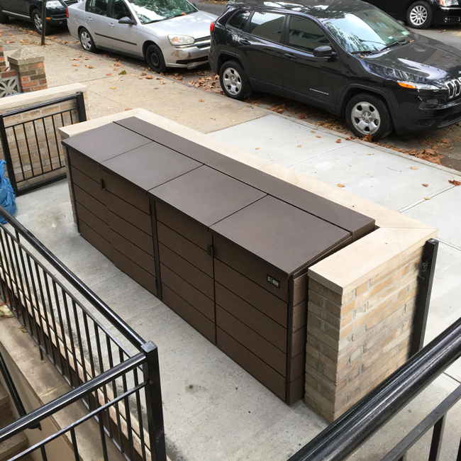outdoor trash can dimensions citibin
