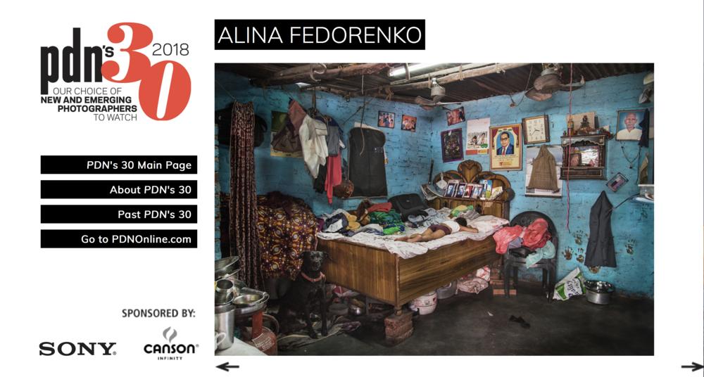 PDN´s 30 2018 Alina Fedorenko