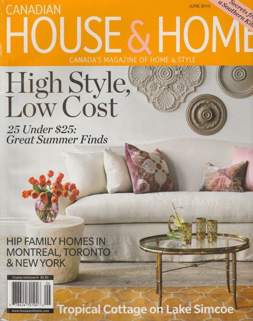 Trish Magwood featured in Canadian House & Home magazine