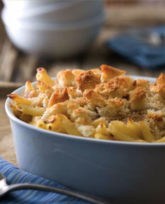 The best comfort food for any day – this mac and cheese recipe is great for the adults too.