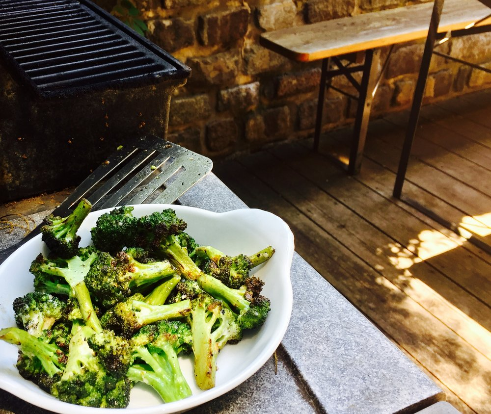 BBQ Charred Broccoli