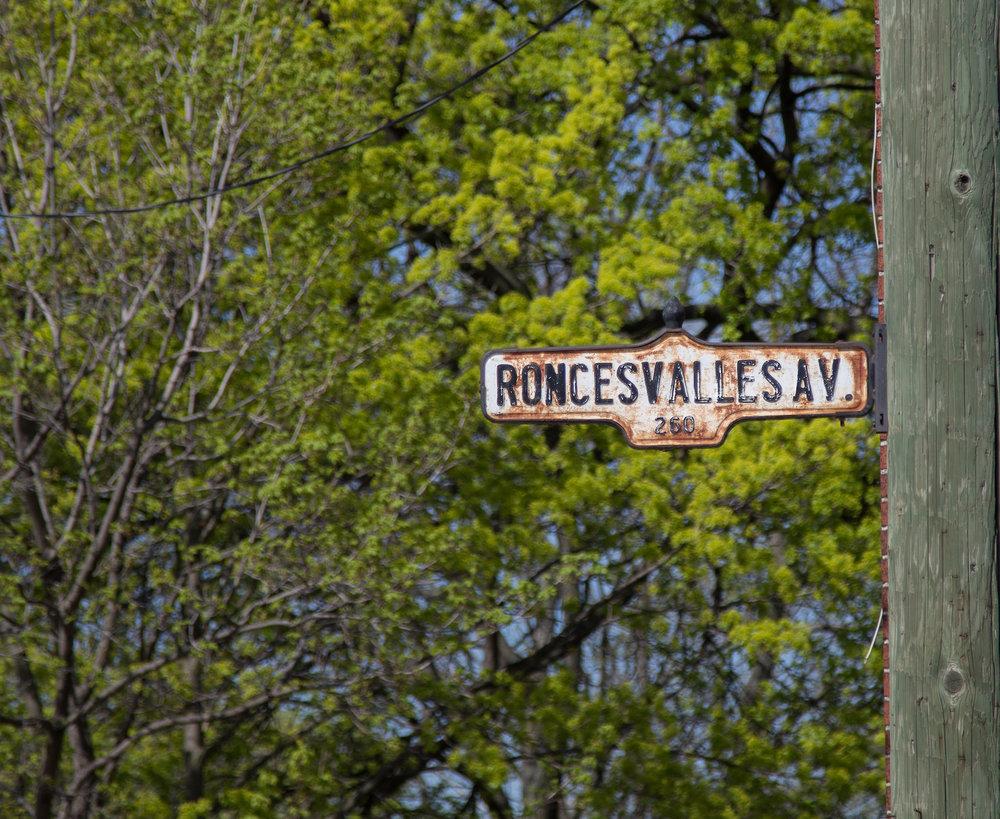 Roncesvalles Street in Toronto