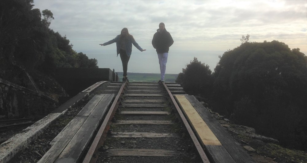 The top of the Denniston incline