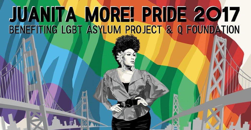 Juanita More! Annual Pride Party 2017 - 620 Jones, 6/25