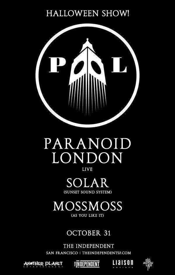 AYLI with Paranoid London