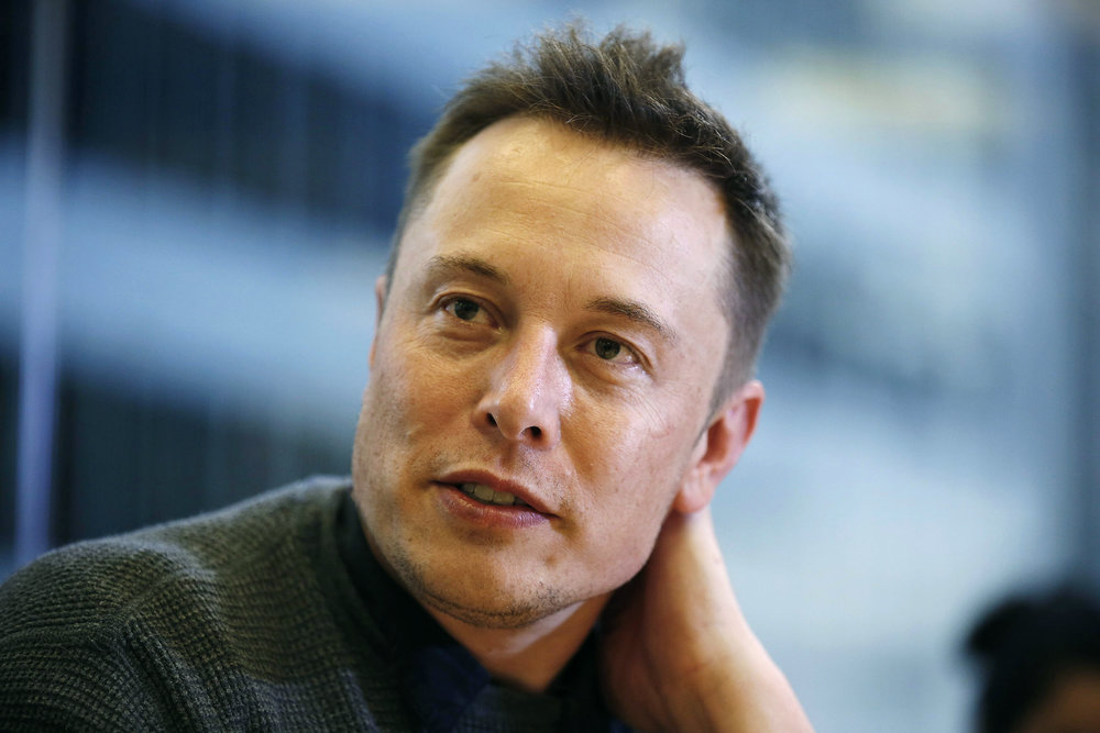 """To accelerate the world's transition to sustainable energy."" Elon Musk."