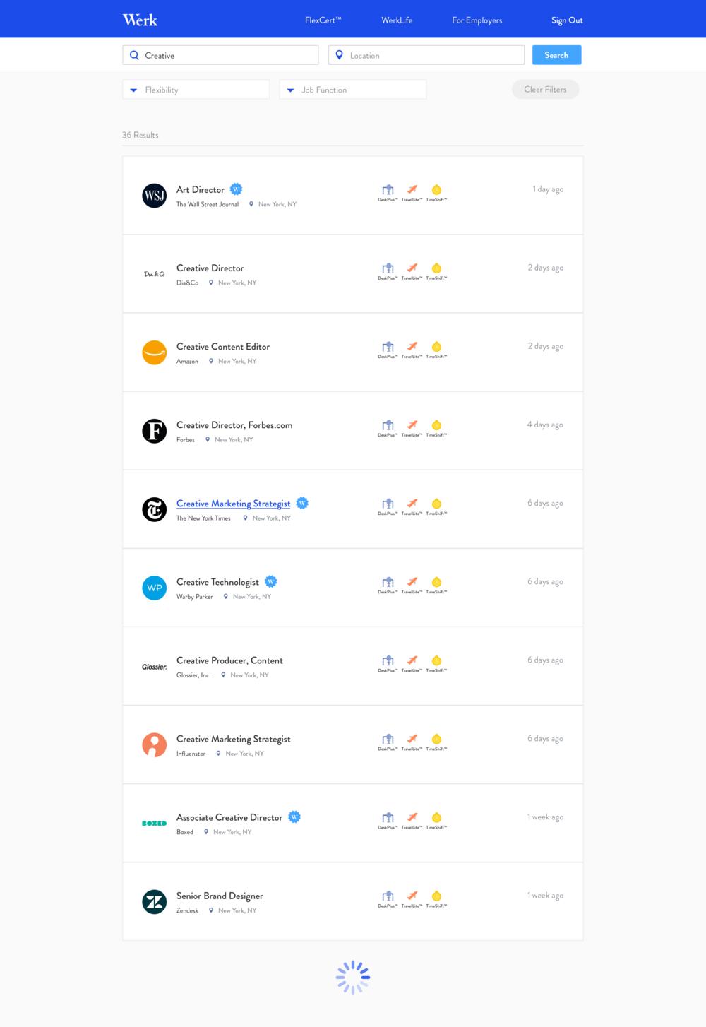 Job Board (Search) Design