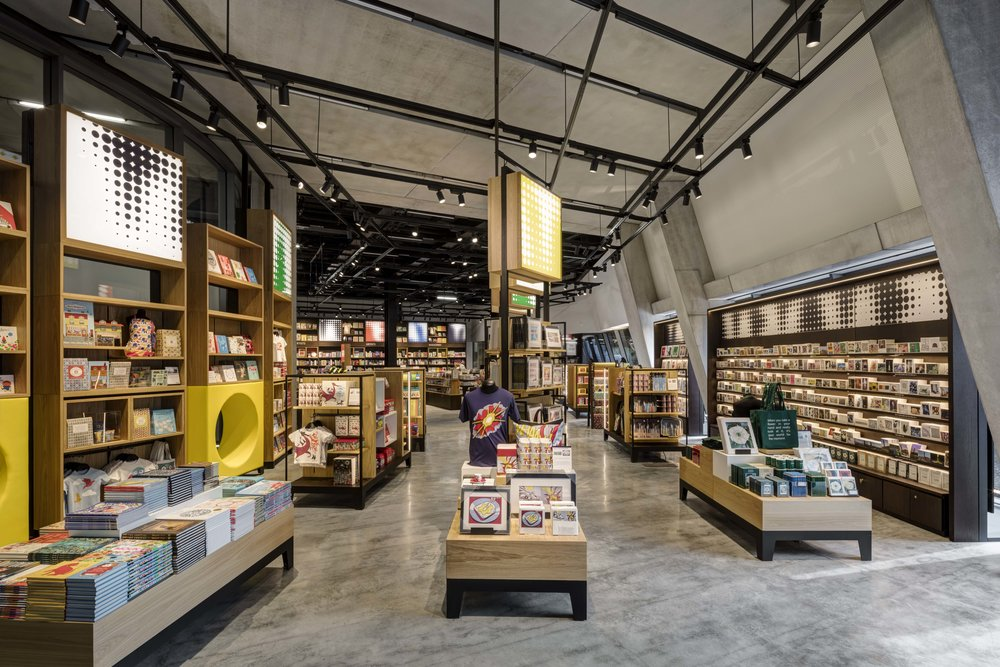 Tate Modern new museum shop(© UXUS)