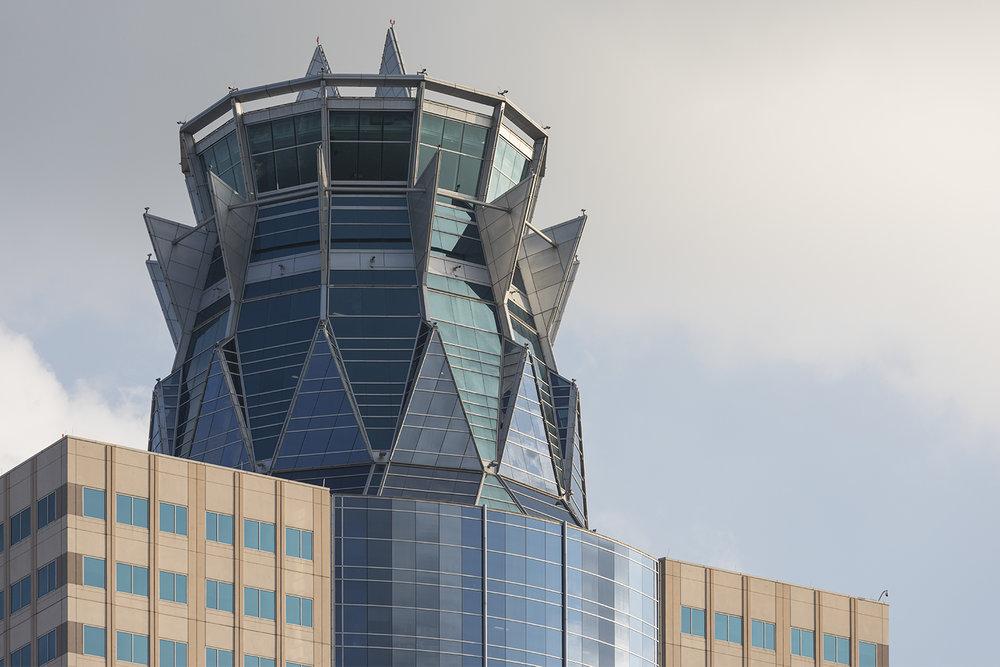 The Crown on top of Memorial Hermann Tower