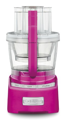 Cuisinart FP-12MP Elite Collection 12-Cup Food Processor, Metallic Pink