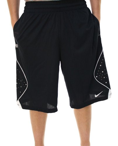 Nike Men's Dri-Fit King James Basketball Shorts Navy Blue 406092-475-Medium