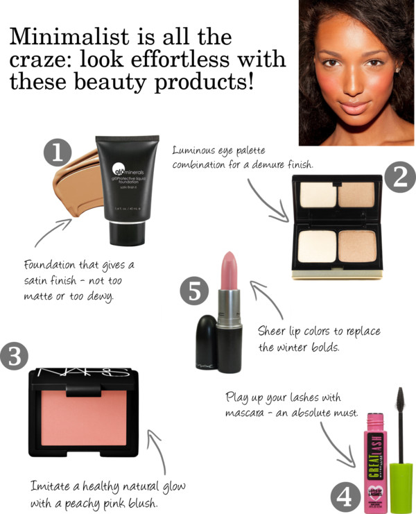 Get the look - minimalist beauty
