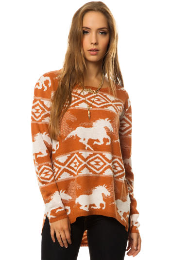 RVCA - The Buddy Wild Horse Sweater