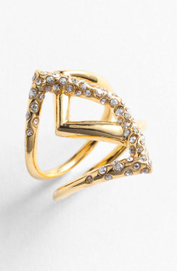 Alexis Bittar - 'Miss Havisham - New Wave' Overlap Ring