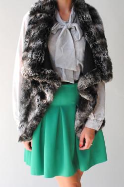 von Z - Faux Fur Vest