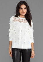 Line & Dot - Prairie Embellished Sweater