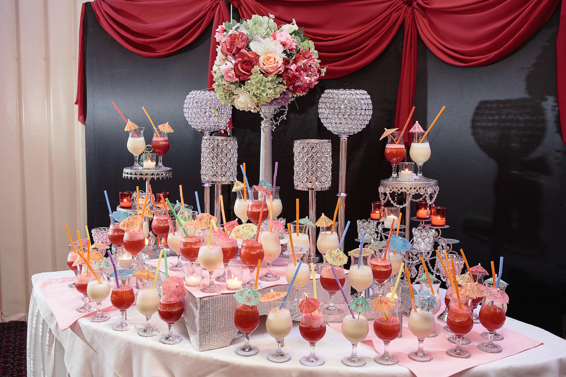 Frozen Drink Display