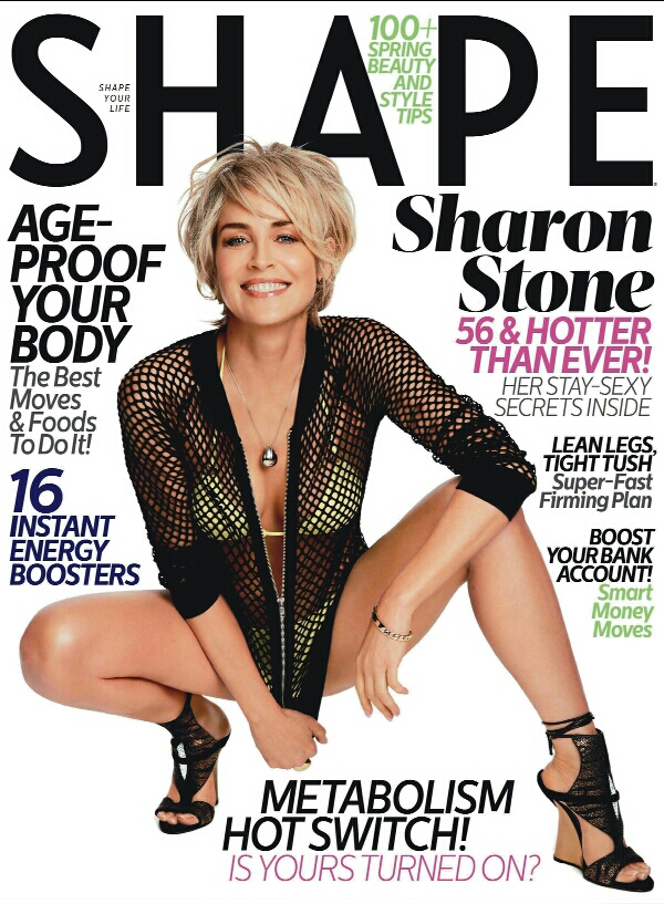 Sharon Stone at age 51, embracing her best self.